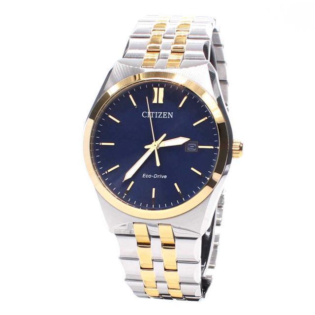 Citizen Eco-Drive Men's Two Tone Corso Watch men watch analog Watches-Direct-SA
