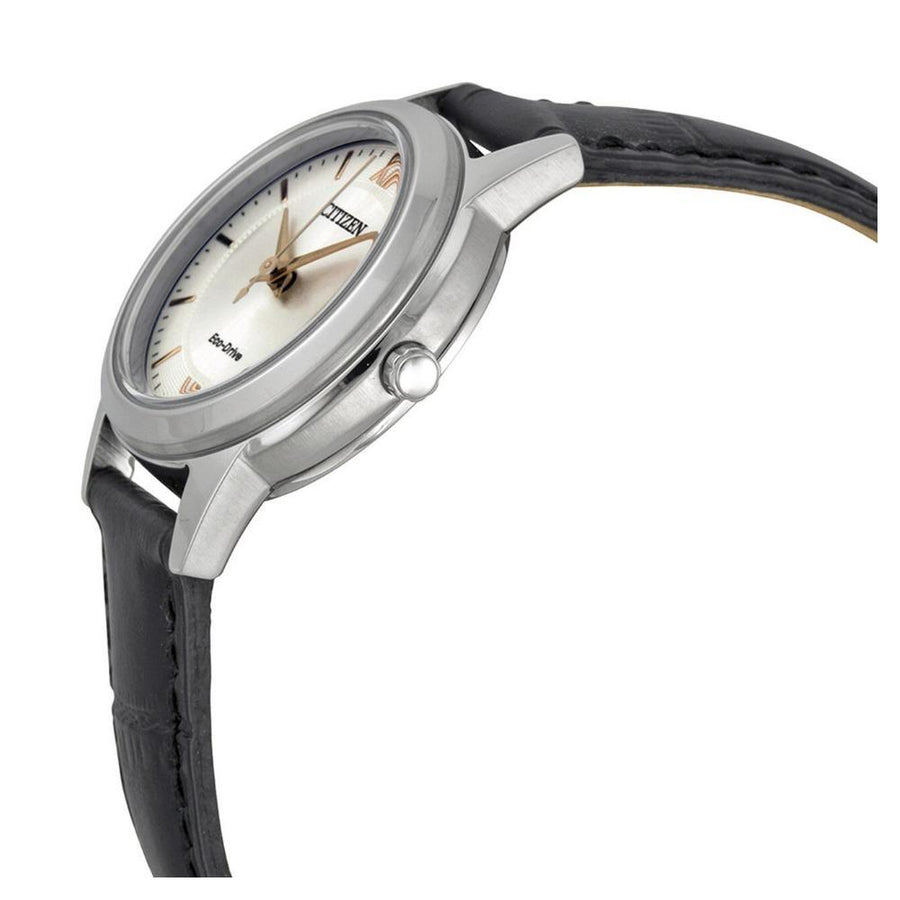 CITIZEN Ladies Straps Eco-Drive Silver Dial Ladies Watch women watch analog Watches-Direct-SA