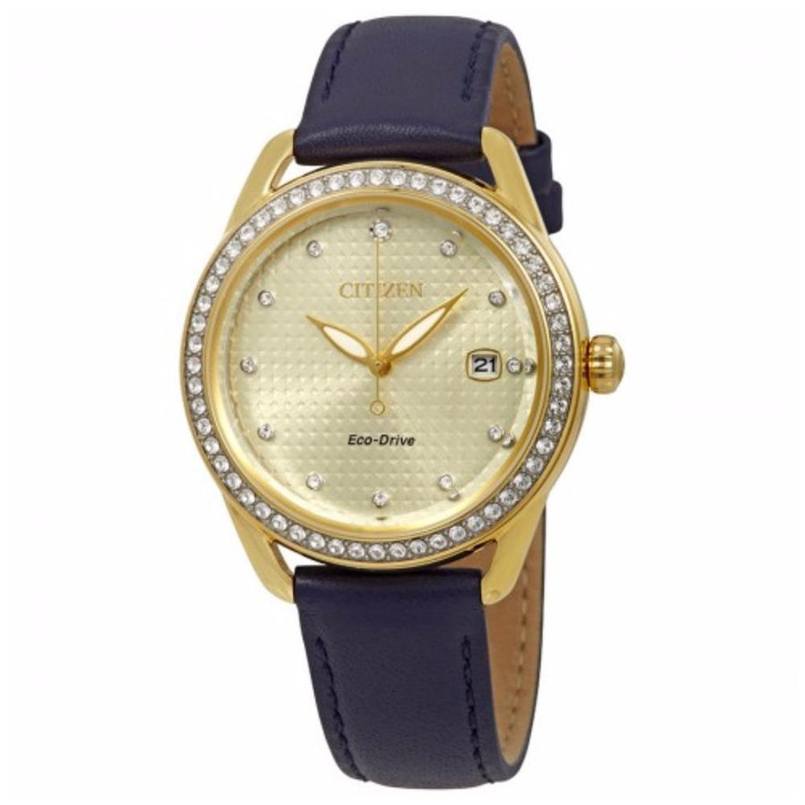 CITIZEN LTR Crystal Ladies Watch women watch analog Watches-Direct-SA
