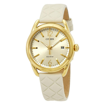 CITIZEN LTR - Long Term Relationship Champagne Dial Ladies Watch women watch analog Watches-Direct-SA