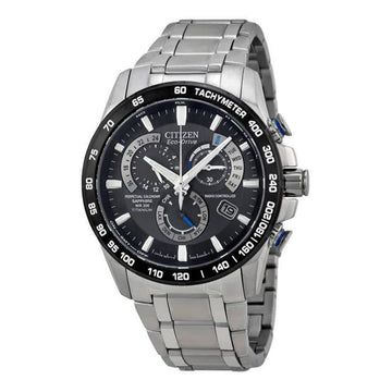 CITIZEN Perpetual Chrono A-T Eco-Drive Titanium Chronograph Men's Watch men watch analog Watches-Direct-SA