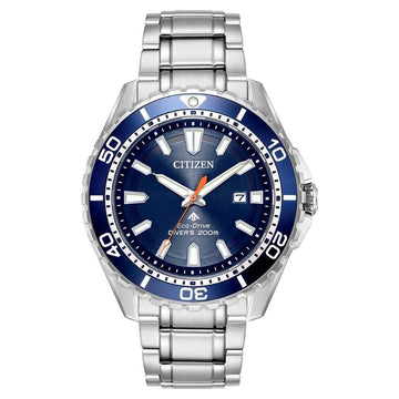 CITIZEN Promaster Diver Blue Dial Men's Stainless Steel Watch men watch analog Watches-Direct-SA