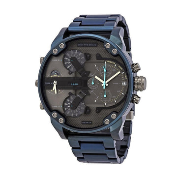 DIESEL Diesel Mr. Daddy 2.0 Chronograph Quartz Grey Dial Men's Watch men watch digital Watches-Direct-SA