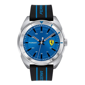 Ferrari Forza Men's, Quartz Stainless Steel and Silicone Strap Casual Watch men watch analog Watches-Direct-SA