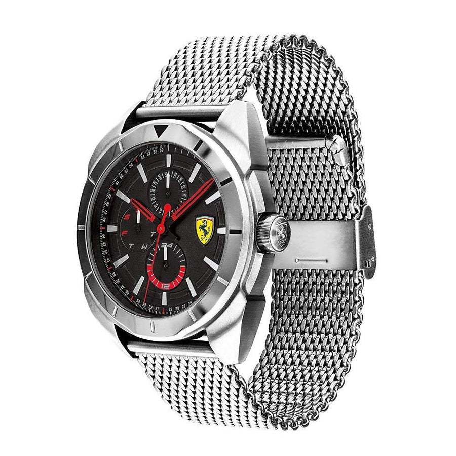 Ferrari Men's Forza Quartz Stainless Steel and Bracelet Casual Watch men watch analog Watches-Direct-SA
