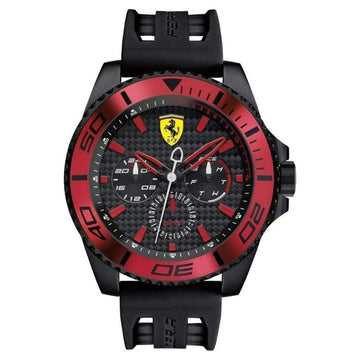 Ferrari Men's XX KERS Analog Display Japanese Quartz Black Watch men watch analog Watches-Direct-SA