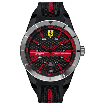 Ferrari 'RED REV T' Quartz Resin and Silicone Watch men watch analog Watches-Direct-SA