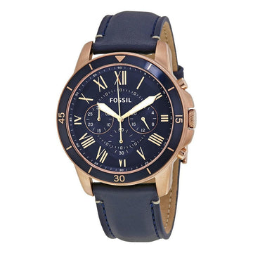 FOSSIL Grant Sport Blue Dial Men's Chronograph Watch men watch analog Watches-Direct-SA
