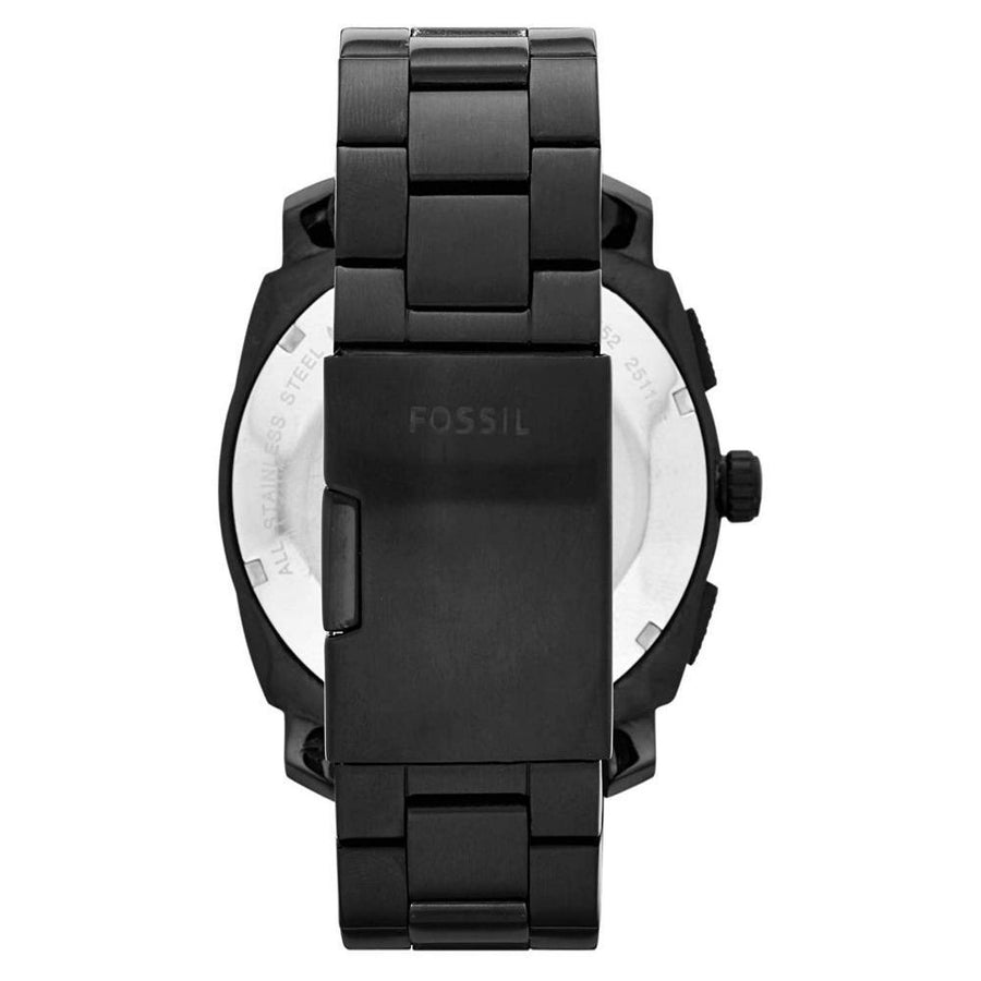 FOSSIL Machine Chronograph Black Ion-plated Men's Watch men watch analog Watches-Direct-SA