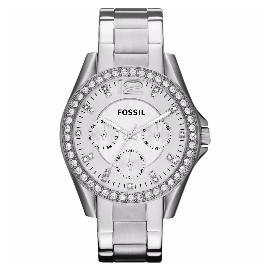 Fossil Riley Multifunction Crystal Dial Women's Watch women watch analog Watches-Direct-SA