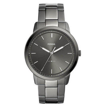 FOSSIL The Minimalist 3H Grey Dial Men's Watch men watch analog Watches-Direct-SA