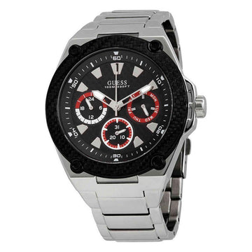 GUESS Carbon Fiber Dial Men's Multi-function Watch men watch analog Watches-Direct-SA