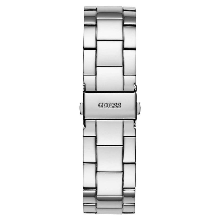 GUESS G-Twist Silver Dial Ladies Watch women watch analog Watches-Direct-SA