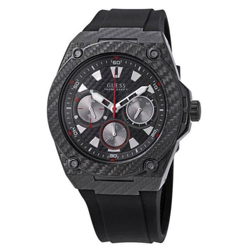 Guess Legacy Black Dial Men's Watch men watch analog Watches-Direct-SA