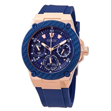 GUESS Legacy Blue Dial Blue Silicone Men's Watch Watches-Direct-SA