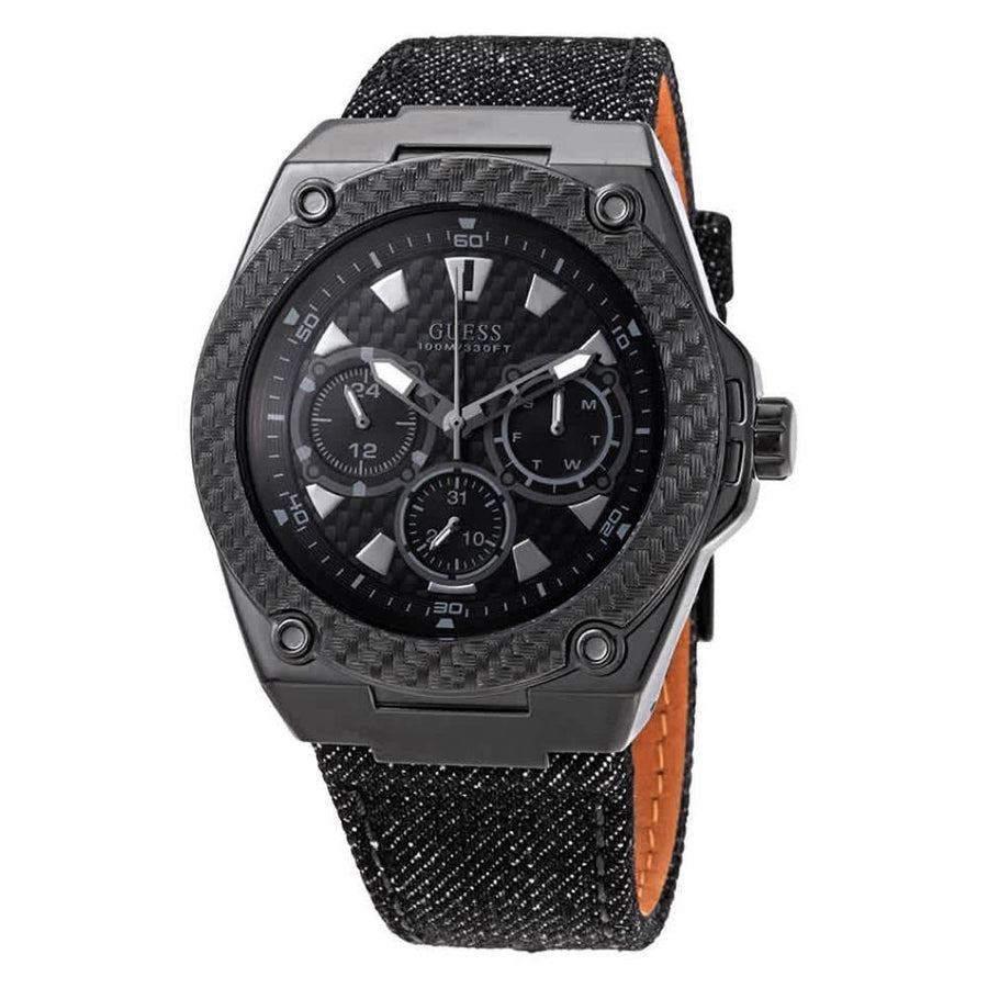 GUESS Legacy Carbon Fiber Dial Men's Watch men watch analog Watches-Direct-SA