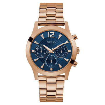 GUESS Quartz Blue Dial Ladies Multifunction Watch women watch analog Watches-Direct-SA