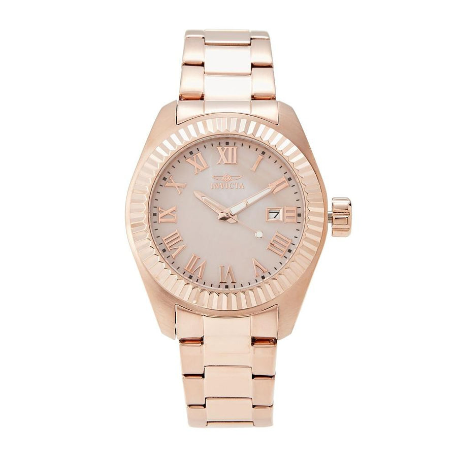INVICTA Angel Rose Dial Rose Gold-plated Ladies Watch men watch analog Watches-Direct-SA