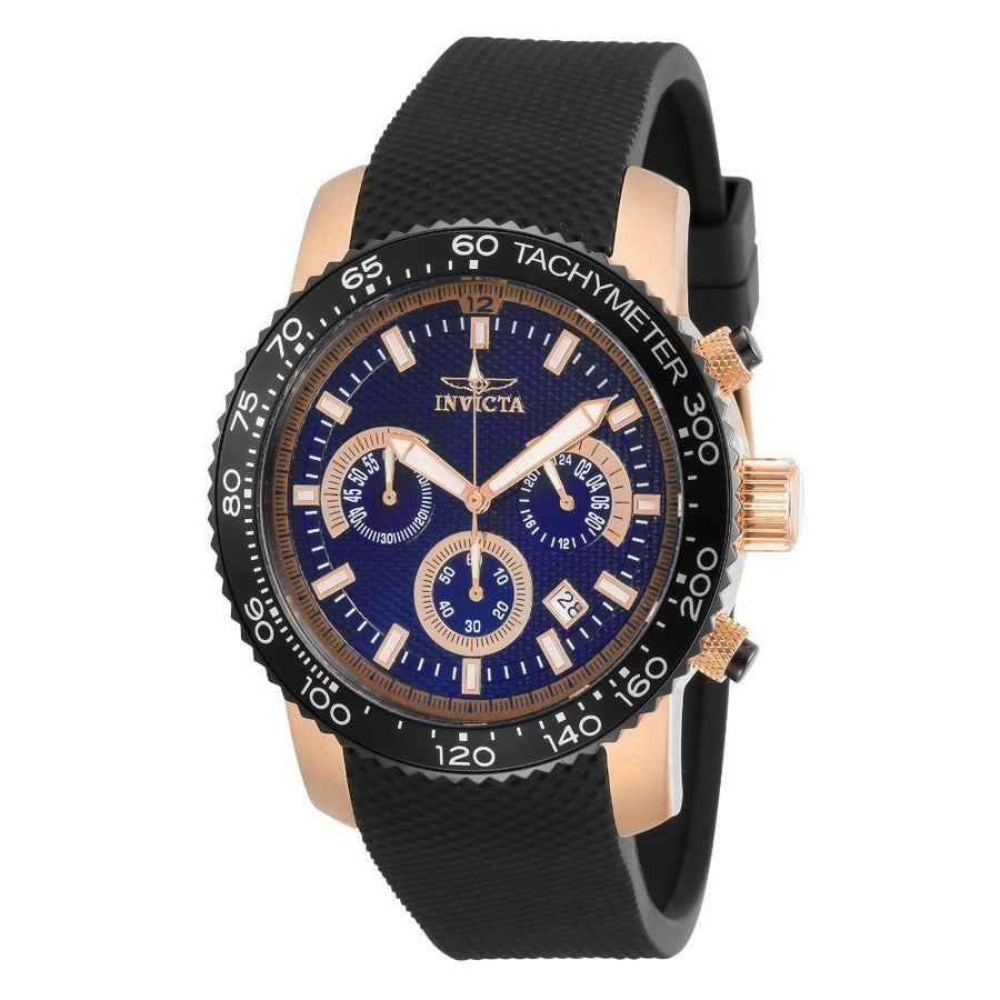 INVICTA Invicta Specialty Chronograph Quartz Blue Dial Men's Watch men watch analog Watches-Direct-SA
