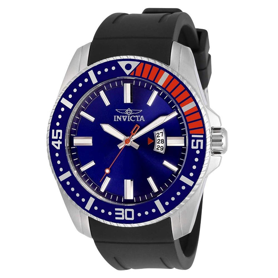 INVICTA Pro Diver Quartz Blue Dial Pepsi Bezel Men's Watch men watch analog Watches-Direct-SA