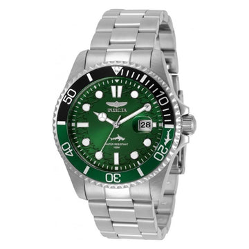 INVICTA Pro Diver Quartz Green Dial Men's Watch men watch analog Watches-Direct-SA