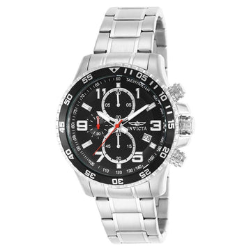 INVICTA Specialty Chronograph Black Dial Stainless Steel Men's Watch men watch analog Watches-Direct-SA