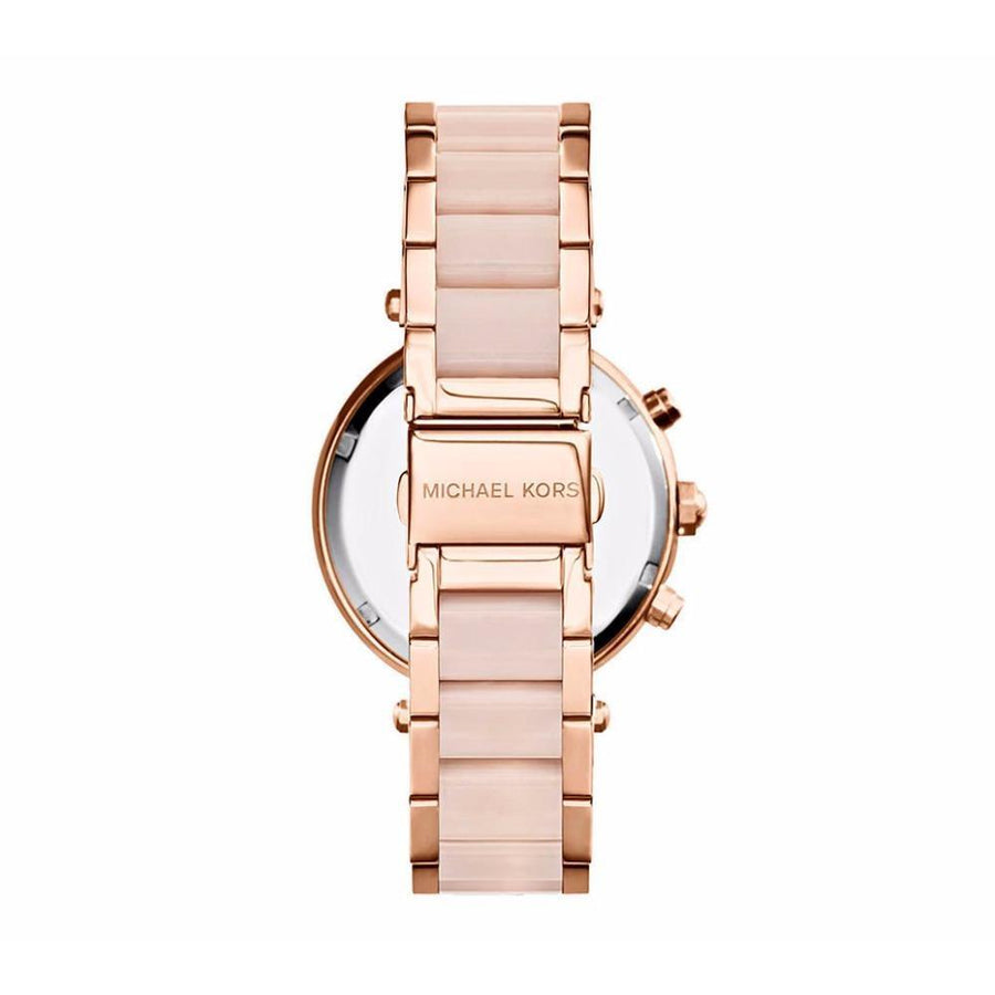 MICHAEL KORS Parker Blush Dial Ladies Watch women watch analog Watches-Direct-SA
