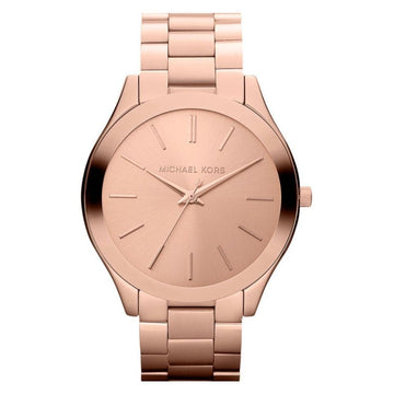 Michael Kors Rose Gold-Tone Dial Ladies Watch women watch analog Watches-Direct-SA