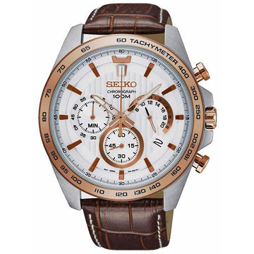 Seiko Chronograph Quartz Tachymeter Men's Watch men watch analog Watches-Direct-SA