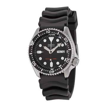 SEIKO Divers Automatic Men's Watch Rubber Strap 42mm case - Made in Japan men watch analog Watches-Direct-SA