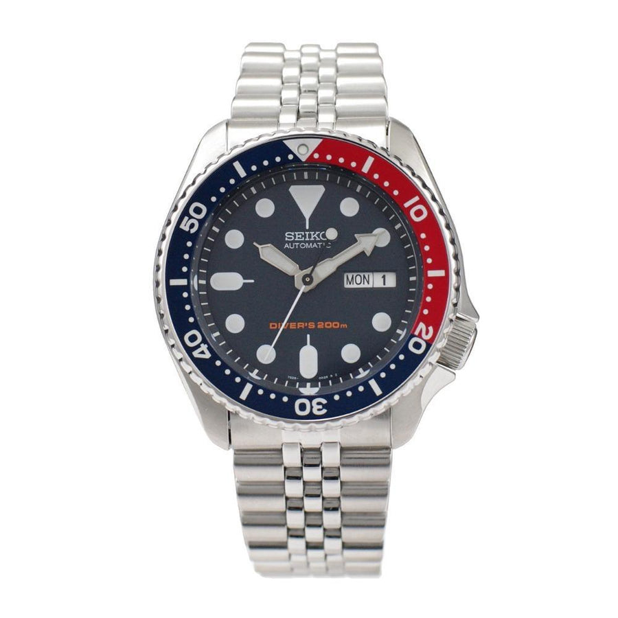 SEIKO Divers Automatic Navy Blue Dial Men's Watch men watch analog Watches-Direct-SA