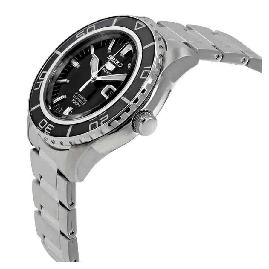SEIKO Fifty Five Fathoms Automatic Black Dial Men's Watch men watch analog Watches-Direct-SA