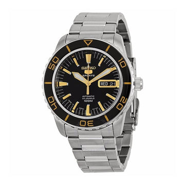 SEIKO Fifty Five Fathoms Automatic Black Dial Stainless Steel Men's Watch men watch analog Watches-Direct-SA