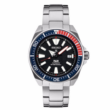 SEIKO Prospex Black Dial Men's Mechanical Watch men watch analog Watches-Direct-SA