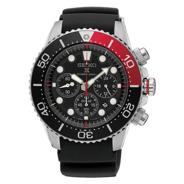 Seiko Prospex Diver's Solar Chronograph 200M Men's Watch men watch analog Watches-Direct-SA
