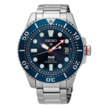 Seiko Prospex PADI Special Edition Solar Diver's 200M Men's Watch men watch analog Watches-Direct-SA