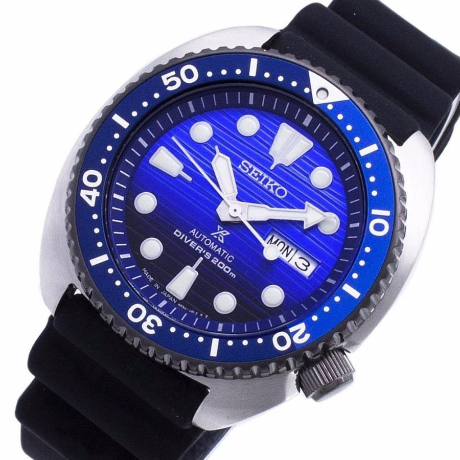 SEIKO Prospex Turtle Automatic Blue Dial Men's Watch men watch analog Watches-Direct-SA