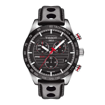 TISSOT PRS 516 Chronograph Black Dial Men's Watch men watch analog Watches-Direct-SA
