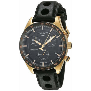 TISSOT PRS 516 Chronograph Men's Watch T100.417.36.051.00 men watch analog Watches-Direct-SA