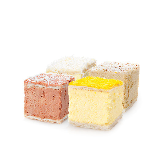 Assorted Gourmet Custard Squares