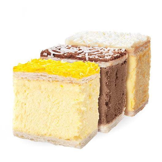 Assorted Gourmet Custard Slices