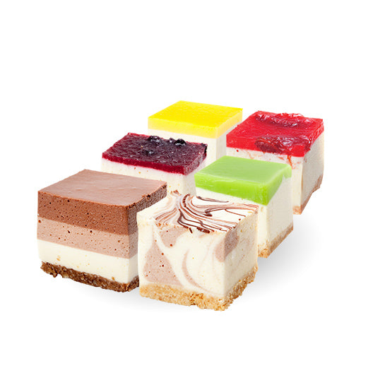 Assorted Cheesecake Squares