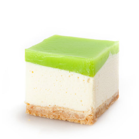 Luscious Lime Cheesecake Square