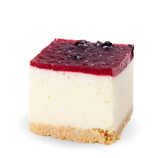 Summer Fruits Cheesecake Square