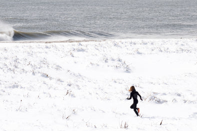 Surfing in Snow, Cold Water Surfing, Cold water surfing tips