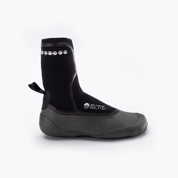 2020 3mm Custom Black/Gray - Soliteboots.com
