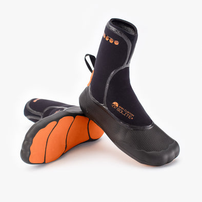 2020 6mm Custom Orange/Black - Soliteboots.com