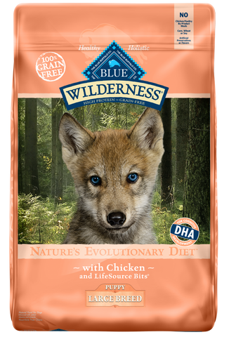Blue Buffalo BLUE Wilderness Large Breed Puppy Chicken Dry Dog Food