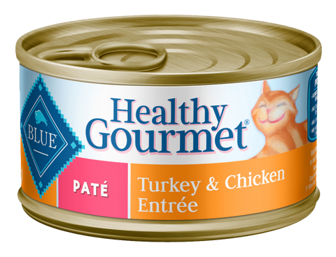 Blue Buffalo BLUE Healthy Gourmet Adult Turkey and Chicken Entree Canned Cat Food