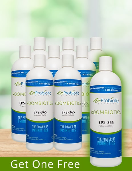 Roombiotics (4 Year EPS Refill) +FREE Bottle